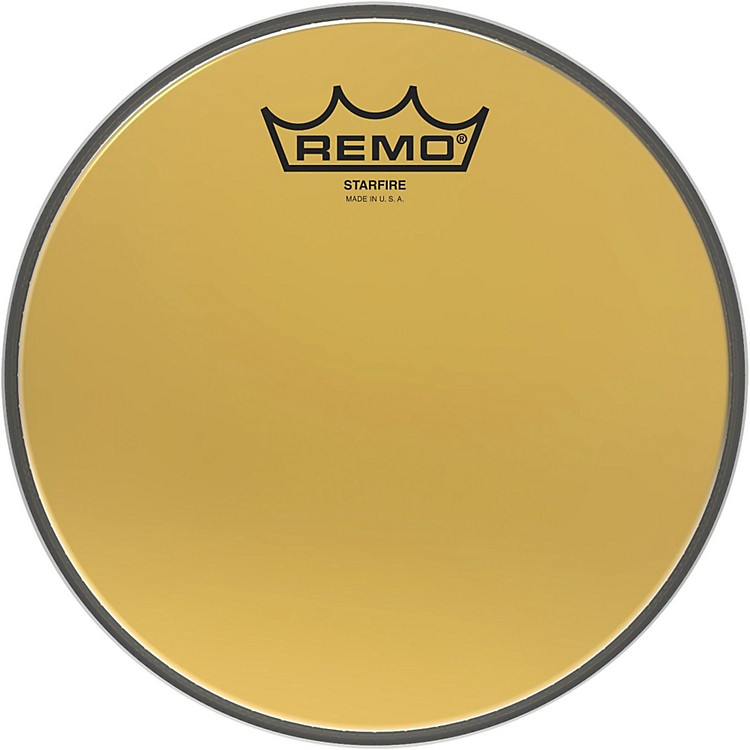 RemoAmbassador Starfire Gold Drum Head8 in.
