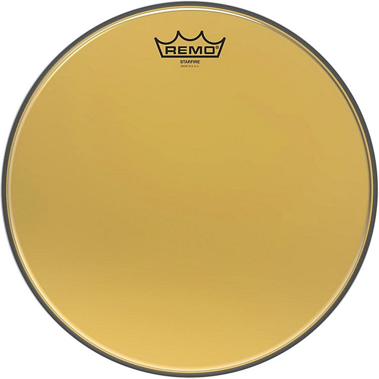 Remo Ambassador Starfire Gold Tom Head 13 in.
