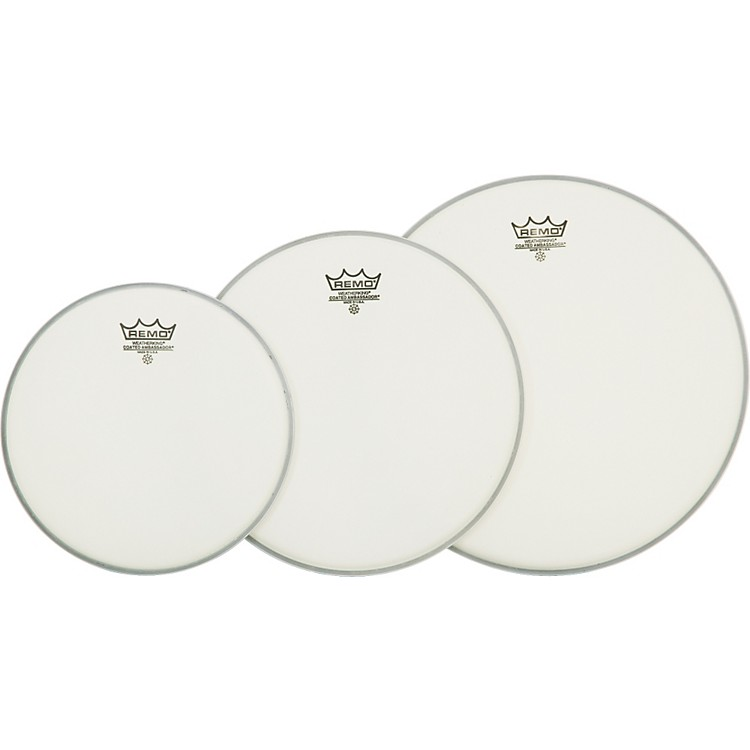 Remo Ambassador Tom Drumhead Pack Standard Clear