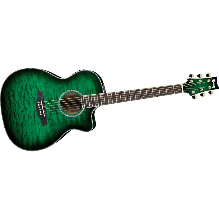 IbanezAmbiance Series A300E Acoustic-Electric Guitar