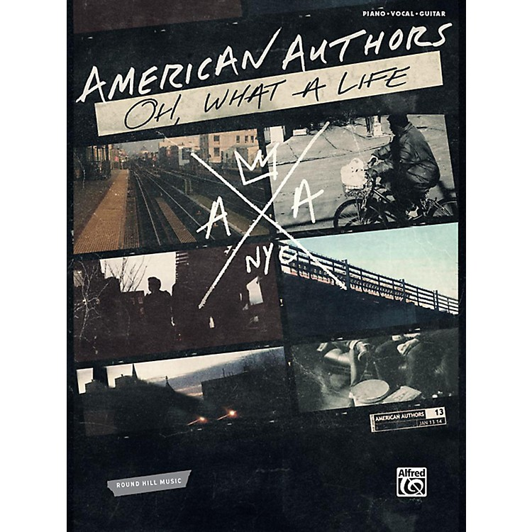 Alfred American Authors - Oh, What a Life P/V/C Book