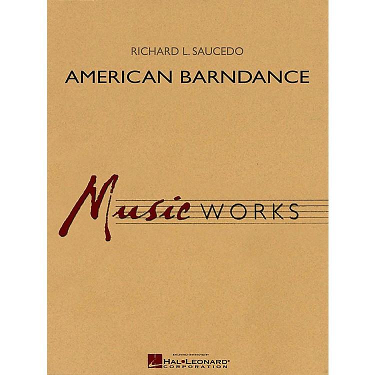 Hal LeonardAmerican Barndance - MusicWorks Grade 4 Concert Band