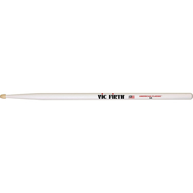 Vic Firth American Classic Drum Sticks White 5A