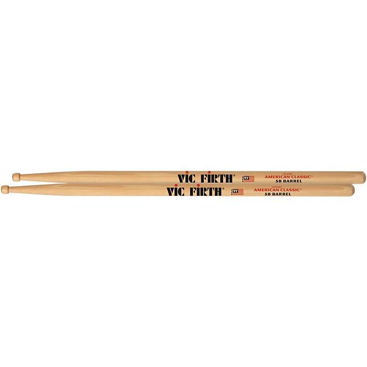 Vic FirthAmerican Classic Drumsticks with Barrel TipWood 5B