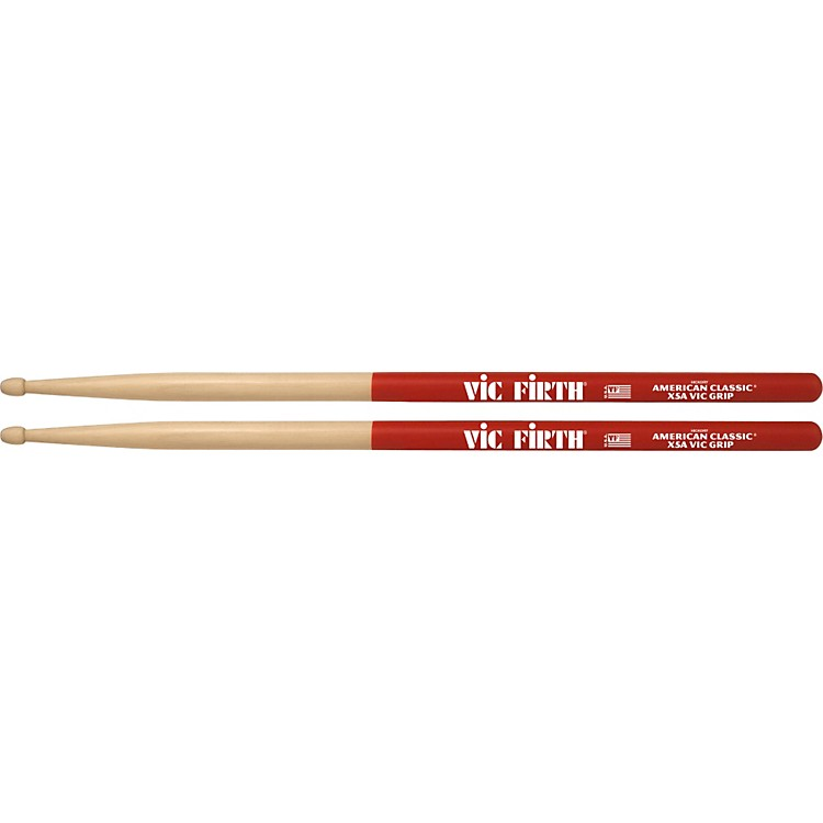 Vic FirthAmerican Classic Extreme Drumsticks with Vic Grip5AWood