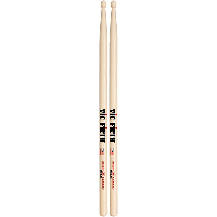 Vic Firth American Classic Hickory Drumsticks Classic Metal Wood