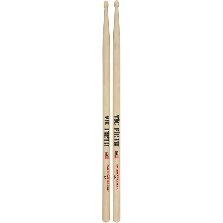 Vic FirthAmerican Classic Hickory DrumsticksWood5A