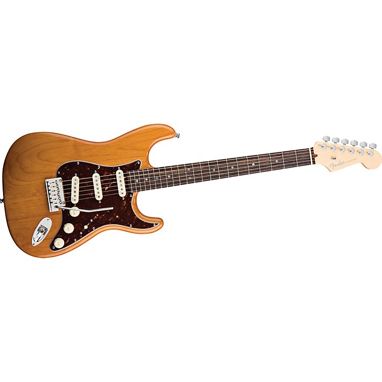 Fender American Deluxe Stratocaster Electric Guitar Amber Rosewood