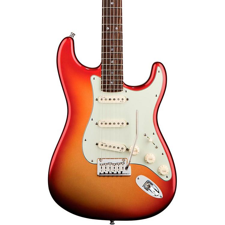 FenderAmerican Deluxe Stratocaster Electric GuitarSunset MetallicRosewood