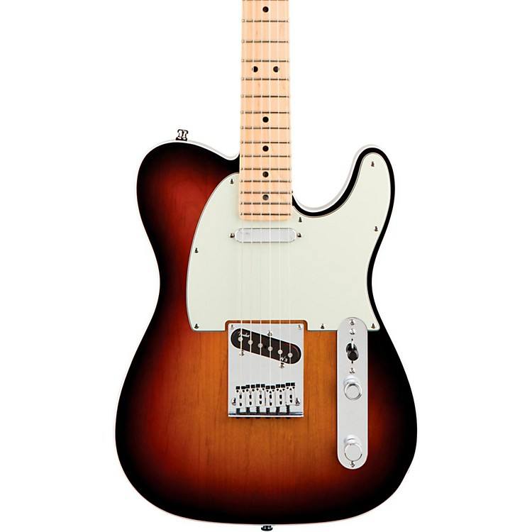 Fender American Deluxe Telecaster Electric Guitar 3-Color Sunburst Maple Neck
