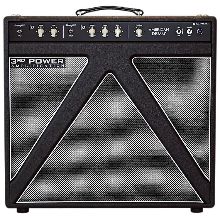 3rd Power AmpsAmerican Dream 30W 1x12 Tube Guitar Combo AmpBlack