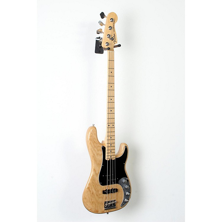 Fender American Elite Maple Fingerboard Precision Bass Natural 888365847504
