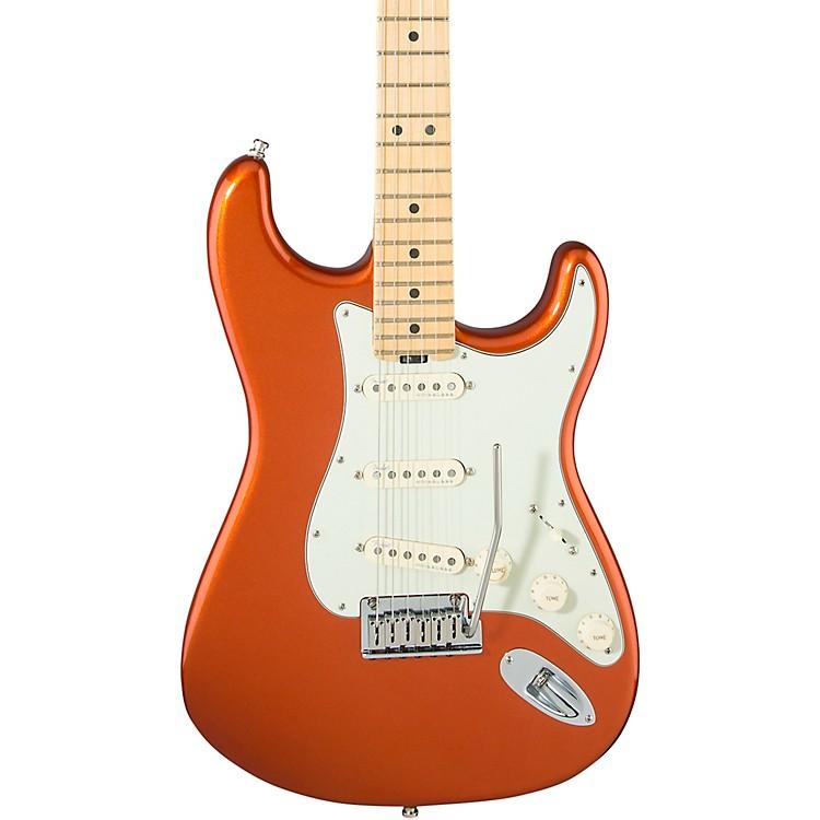 FenderAmerican Elite Maple Stratocaster Electric GuitarAutumn Blaze Metallic