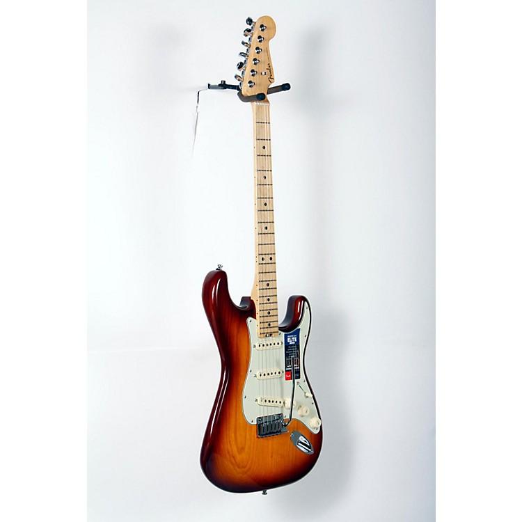 FenderAmerican Elite Maple Stratocaster Electric GuitarTobacco Sunburst888365847320