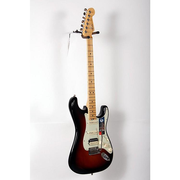 FenderAmerican Elite Stratocaster HSS Shawbucker Maple Fingerboard Electric Guitar3-Color Sunburst888365916200