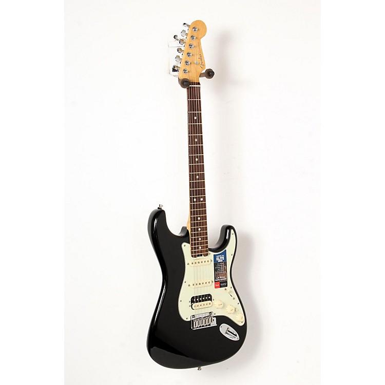FenderAmerican Elite Stratocaster HSS Shawbucker Rosewood Fingerboard Electric GuitarMystic Black888365846125