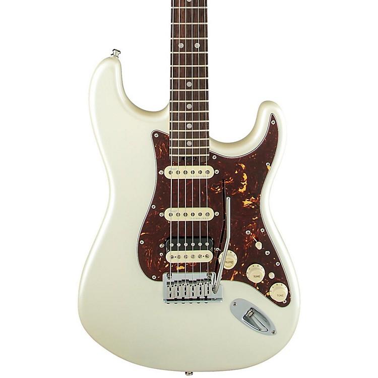 FenderAmerican Elite Stratocaster HSS Shawbucker Rosewood Fingerboard Electric GuitarOlympic Pearl