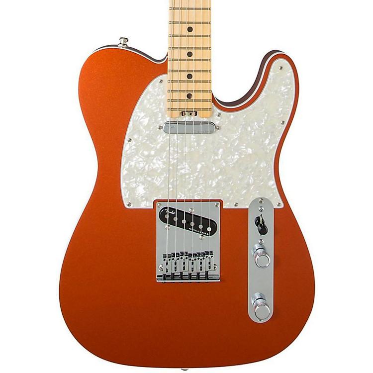 FenderAmerican Elite Telecaster Maple Fingerboard Electric GuitarAutumn Blaze Metallic