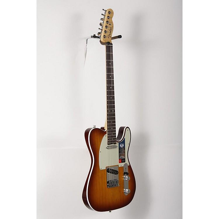 FenderAmerican Elite Telecaster Rosewood Fingerboard Electric GuitarTobacco Sunburst888365909899