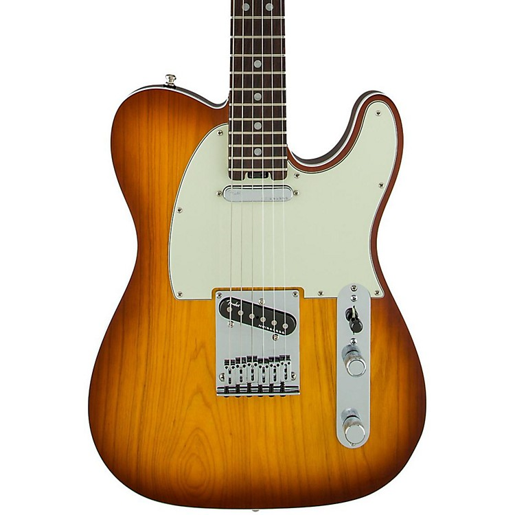 Fender American Elite Telecaster Rosewood Fingerboard Electric Guitar Tobacco Sunburst