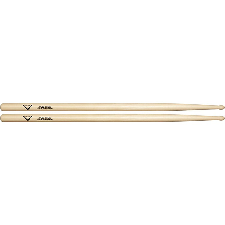 VaterAmerican Hickory Jazz Ride DrumsticksWood