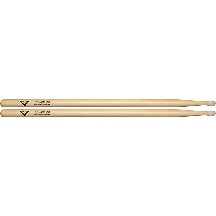VaterAmerican Hickory Power 5B DrumsticksNylon