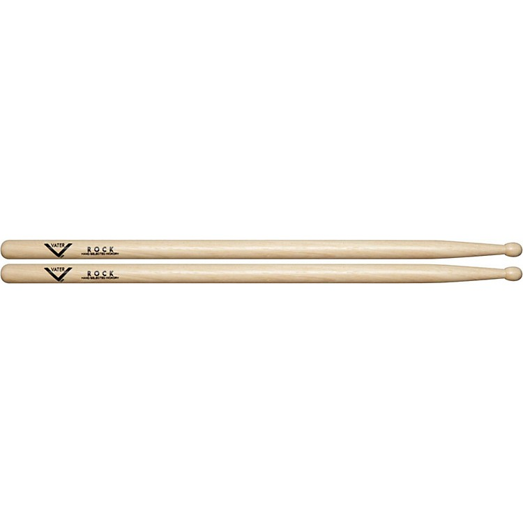 Vater American Hickory Rock Drumsticks  Wood
