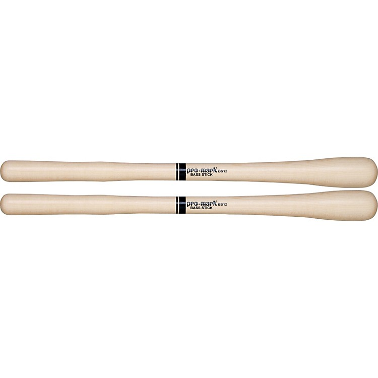PROMARK American Rock Maple Marching Bass Drum Sticks Bs12 Bs12