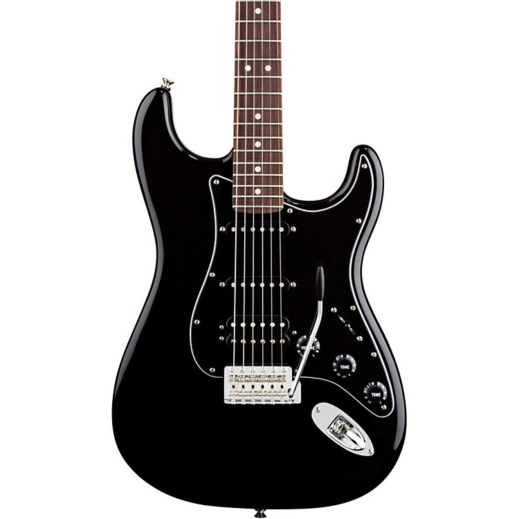 Fender American Special HSS Stratocaster Electric Guitar Black