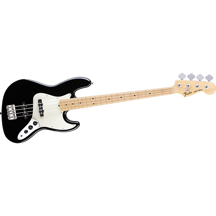 Fender American Special Jazz Bass Black Maple Fretboard