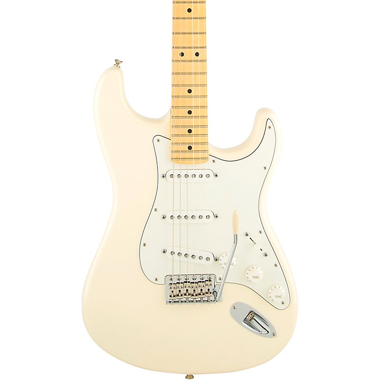 FenderAmerican Special Stratocaster Electric Guitar with Maple FingerboardOlympic WhiteMaple Fingerboard
