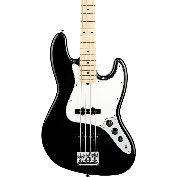 Fender American Standard Jazz Bass with Maple Fingerboard Black Maple Fingerboard