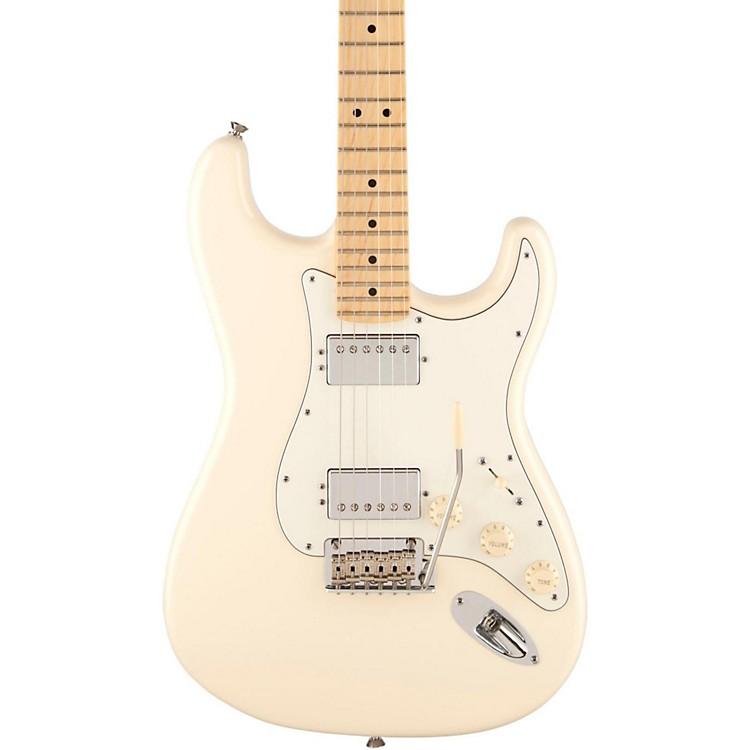 FenderAmerican Standard Maple Fingerboard HH Stratocaster Electric GuitarOlympic White