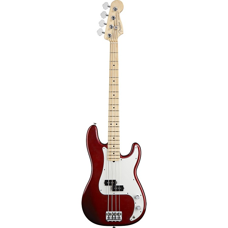 FenderAmerican Standard Precision Bass with Maple FingerboardCandy ColaMaple Fingerboard