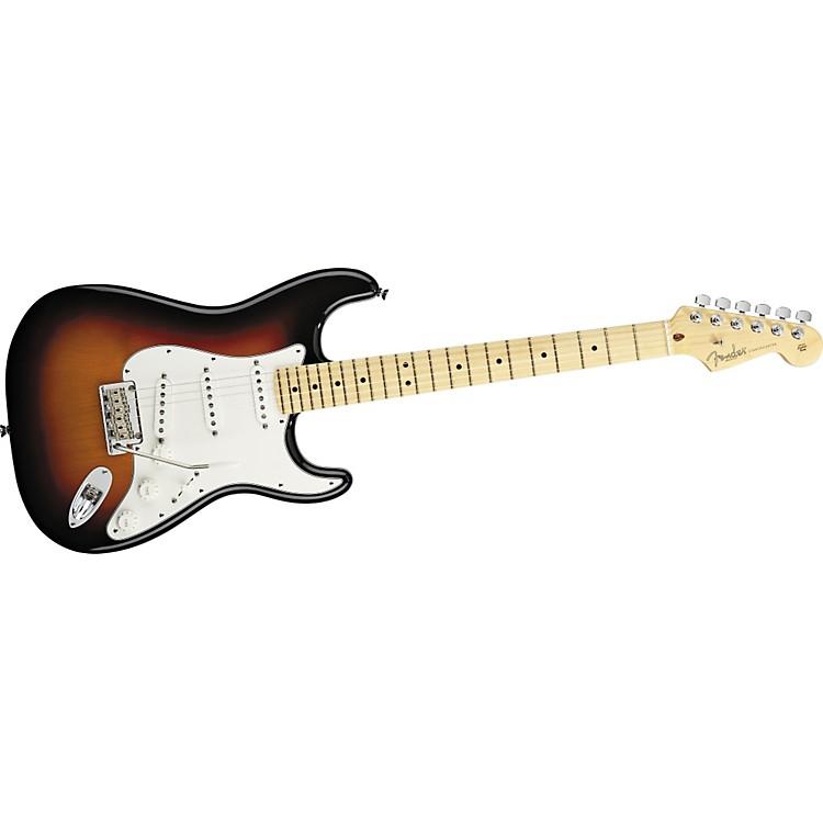 FenderAmerican Standard Stratocaster Electric Guitar3-Color SunburstMaple Fretboard