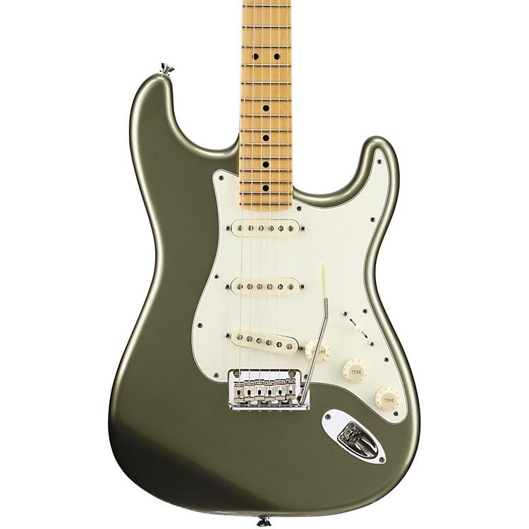 FenderAmerican Standard Stratocaster Electric GuitarJade Pearl MetallicMaple Fingerboard