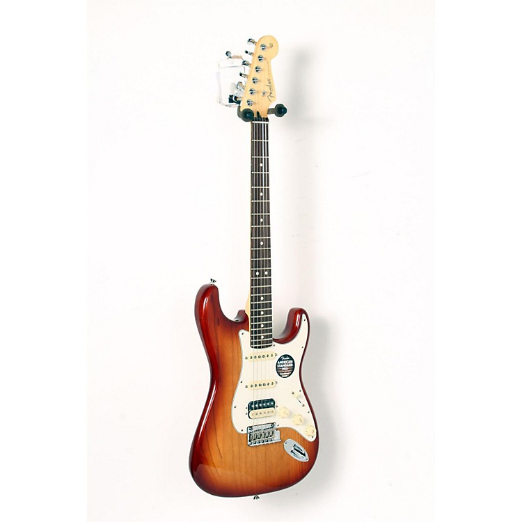 FenderAmerican Standard Stratocaster HSS Shawbucker Rosewood Fingerboard Electric GuitarSienna Sunburst888365911434