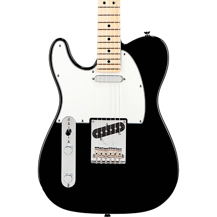 FenderAmerican Standard Telecaster Left-Handed Electric Guitar with Maple FingerboardBlackMaple Fingerboard