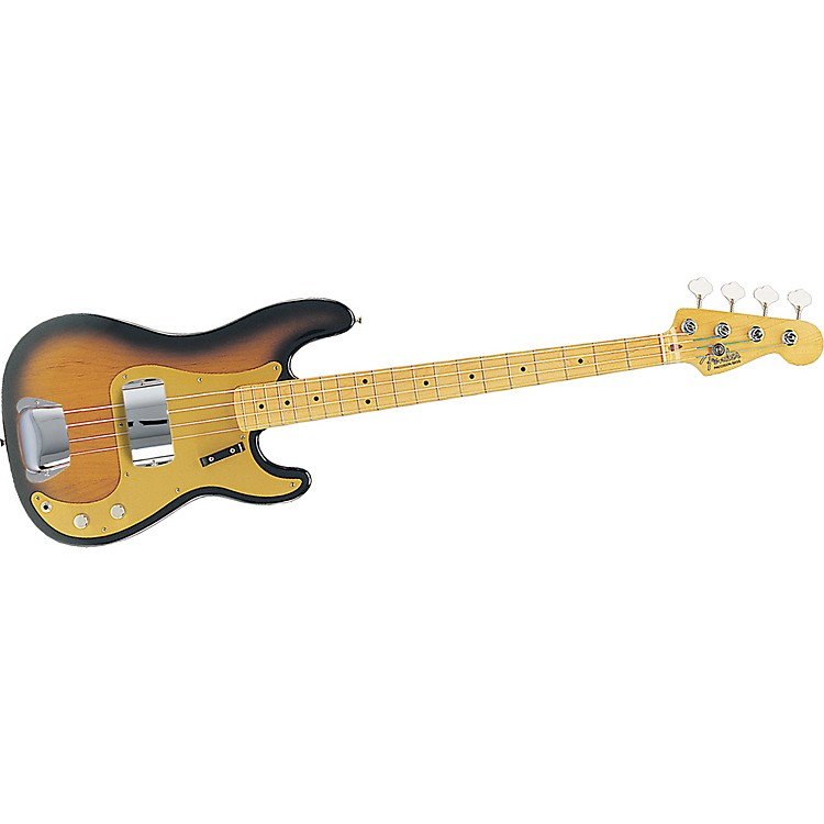 Fender American Vintage '57 Precision Bass 2-Color Sunburst Maple Fretboard
