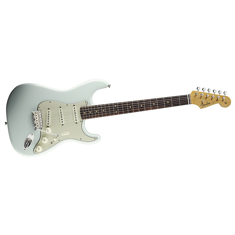 Fender American Vintage '59 Stratocaster Electric Guitar Faded Sonic Blue Rosewood Fingerboard