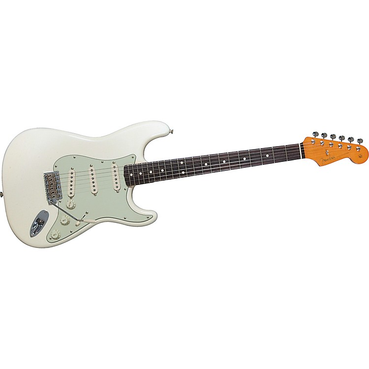 FenderAmerican Vintage '62 Stratocaster Electric GuitarOlympic White