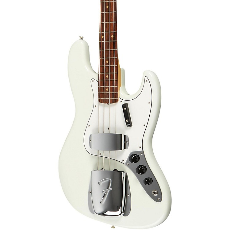 Fender American Vintage '64 Jazz Bass Olympic White Rosewood Fingerboard