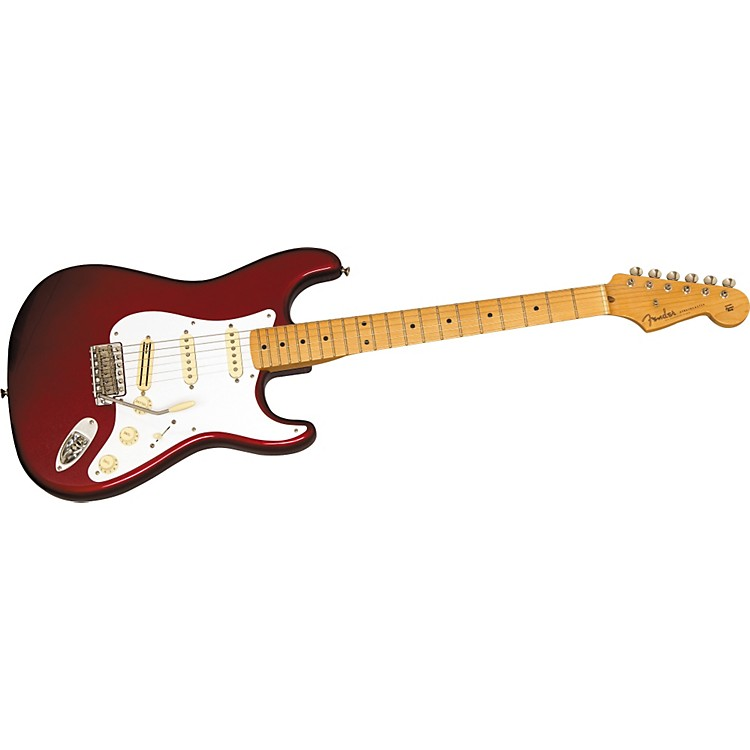 FenderAmerican Vintage Hot Rod '57 Stratocaster Electric GuitarCandy Apple Red
