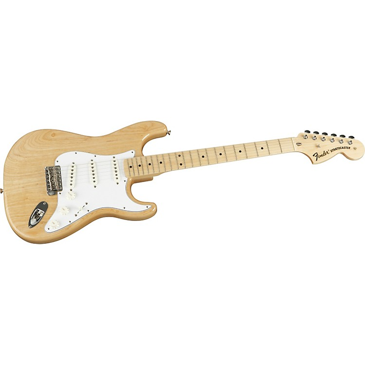 Fender American Vintage Series '70s Stratocaster Reissue Electric Guitar Natural Ash Maple Fretboard