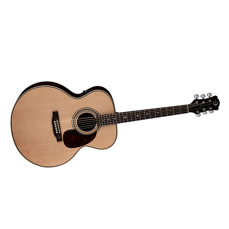 Luna Guitars Americana Classic AMJ 100 Jumbo Acoustic-Electric Guitar Natural Jumbo