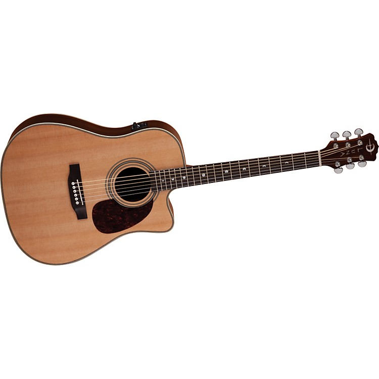 Luna Guitars Americana Classic Cutaway Acoustic-Electric Guitar