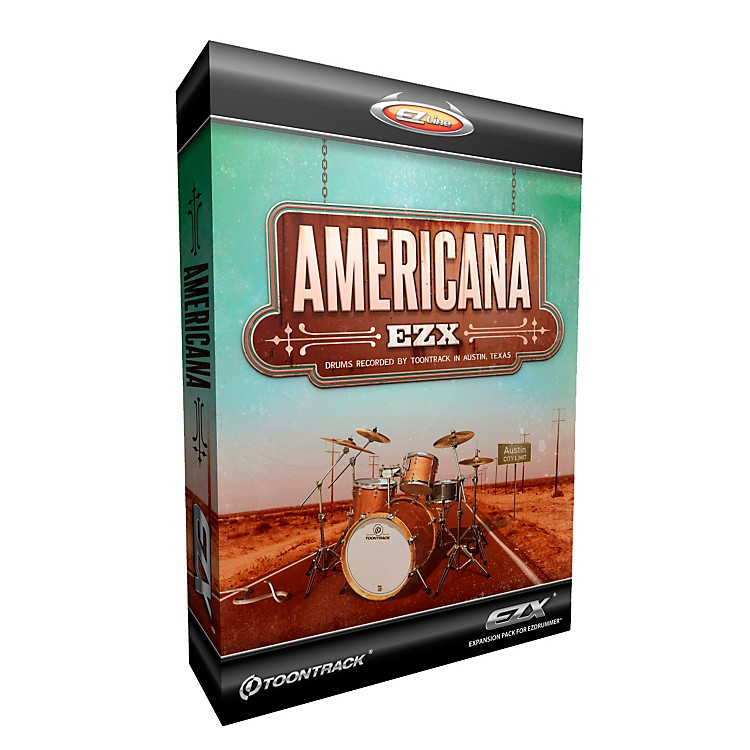 Toontrack Americana EZX Software Download Software Download