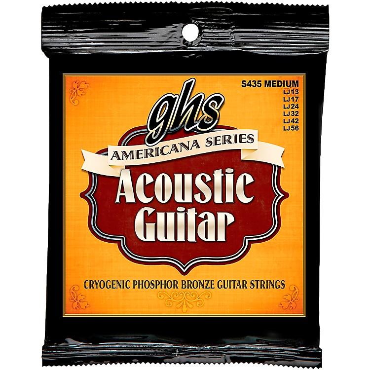 GHSAmericana Light Acoustic Guitar Strings (13-56)