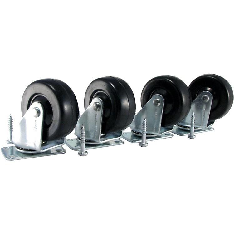 Ernie BallAmp Caster Standard Plate Mount Set of 4