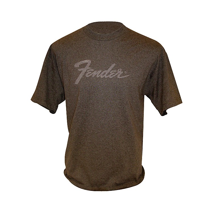 Fender Amp Logo T-Shirt Charcoal Medium